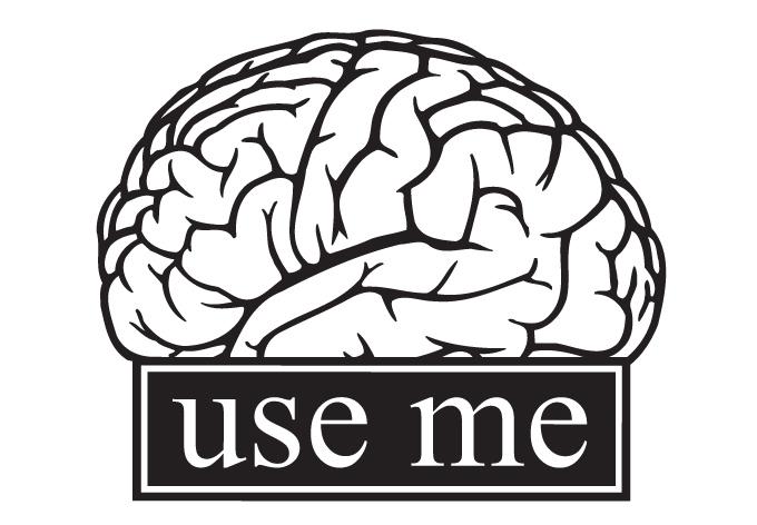 Wall decal sticker brain s