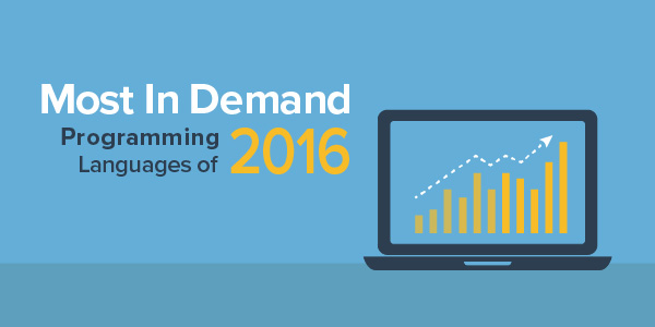 The 10 Most In-Demand Programming Languages of 2016